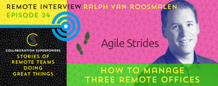 24 - Ralph van Roosmalen of Agile Strides and Management 3.0 on the Collaboration Superpowers podcast