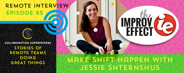 Jessie Shternshus on the Collaboration Superpowers podcast