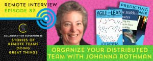 87-Organize-Your-Distributed-Team-With-Johanna-Rothman