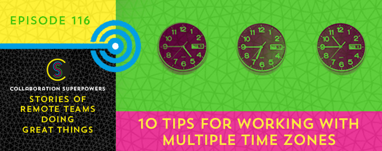 Tips for working with time zones