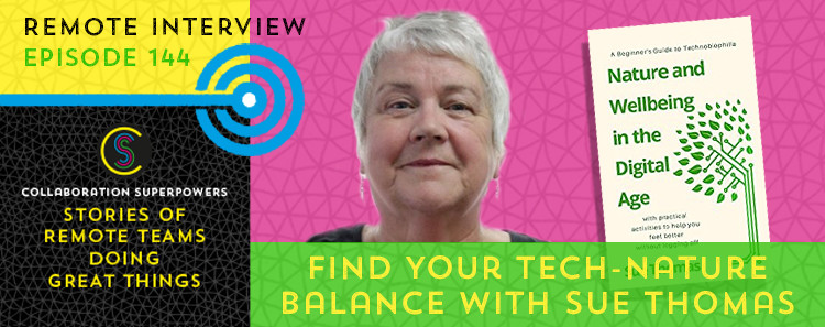 144 - Sue Thomas on the Collaboration Superpowers podcast