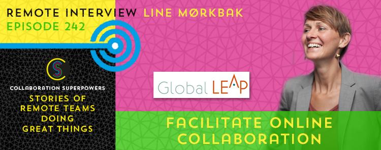 242 – Facilitate Online Collaboration With Line Mørkbak