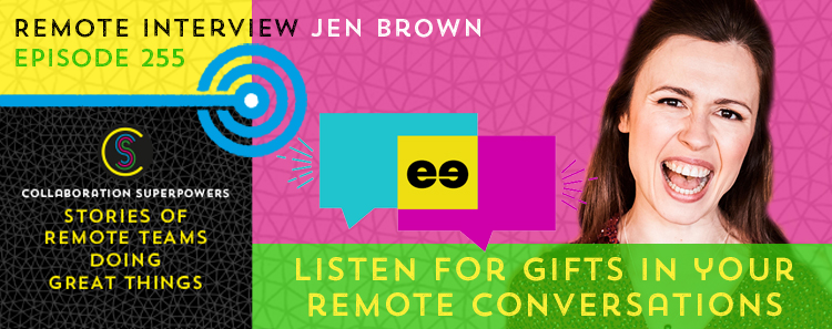 Listen For Gifts With Jen Brown