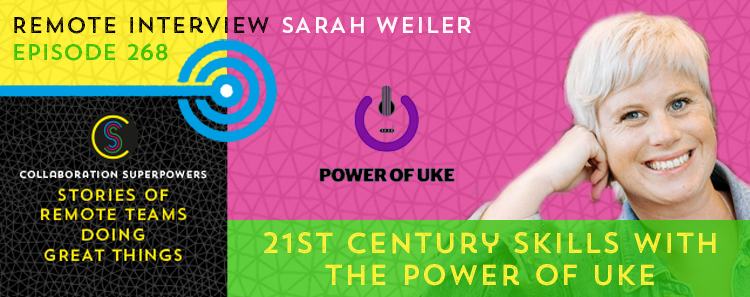 268 – The Power Of Uke With Sarah Weiler
