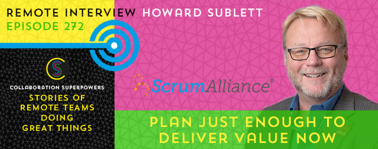 272 – Plan Just Enough To Deliver Value Now