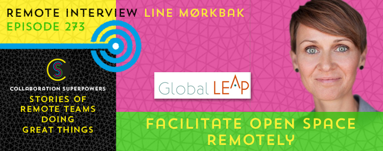 273 – Facilitate Open Space Remotely – with Line Mørkbak