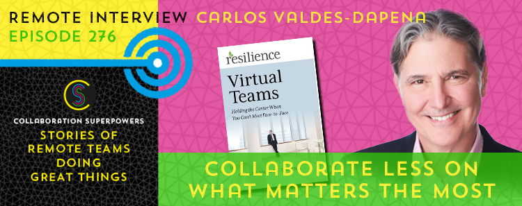276 – Collaborate Less On What Matters The Most