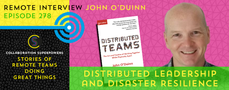 278 – Leadership and Disaster Resilience on Distributed Teams